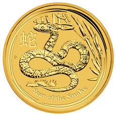 1/20 oz 2013 Australian Lunar Year of the Snake